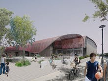 This Inner-City Warehouse Is Being Converted Into An Eco-Friendly Recreation Centre