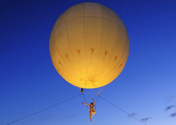 Everything To Know About The Giant Glowing Luna Balloon Coming To Sydney