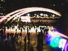 Sydney's Open-Air Ice Rink Is Back With A Sling Of Food Trucks
