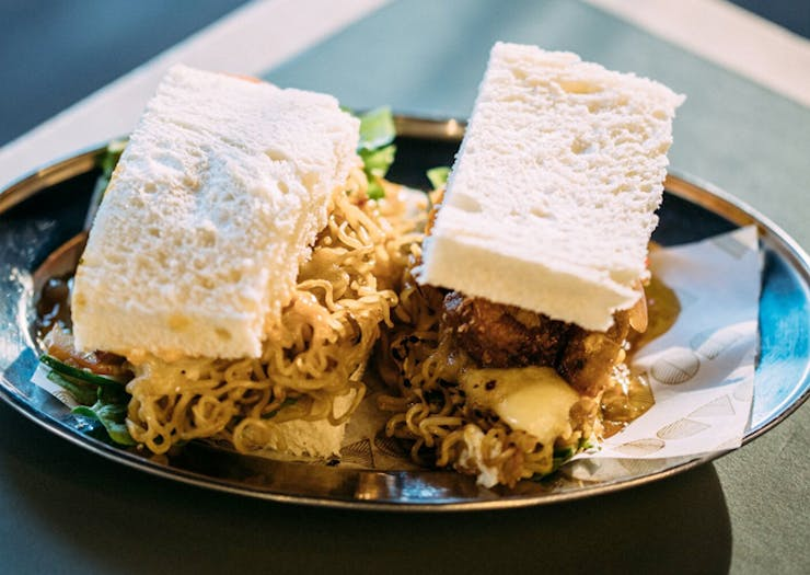 This Sydney Café Is Churning Out An Instant Noodle Sambo And We'd Like To Get Involved