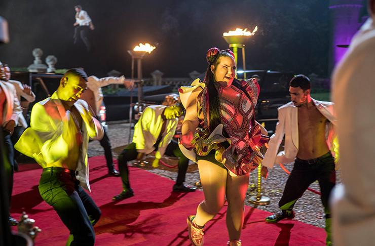 2018 Eurovision winner Netta Barzilai making onscreen performance cameo in Will ferrell's new eurovision movie