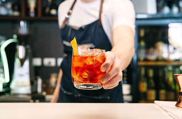 Cocktail at Julios