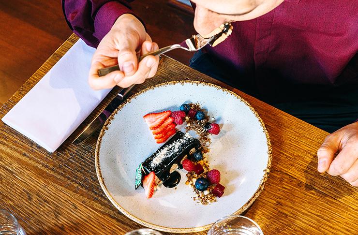Dessert at Julios