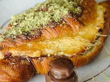Crunch Into Sydney's Newest Treat Mashup, A Heavenly Knafeh Nutella Croissant