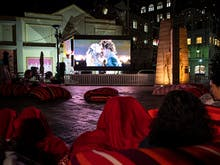 Treat Yourself To Hot Toddies And Popcorn At Sydney's Free Laneway Cinema
