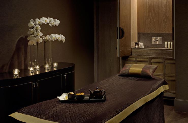 massage room inside the langham