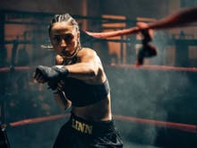 How This Female Boxer Is Making Waves In A Male-Dominated Industry