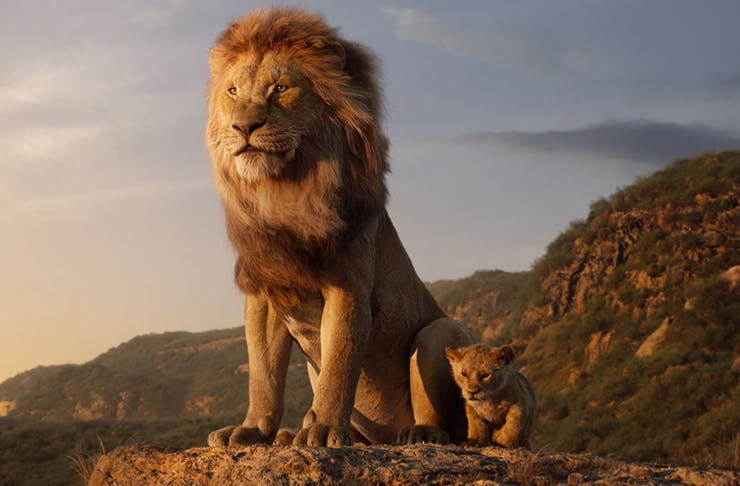 the official lion king trailer just dropped and the