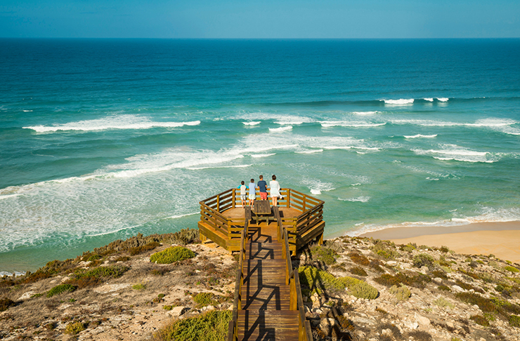 lookout over beach