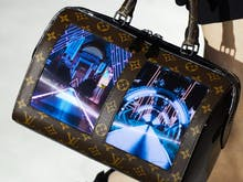 Every Juicy Detail On Louis Vuitton's New AMOLED Screen Studded Bags
