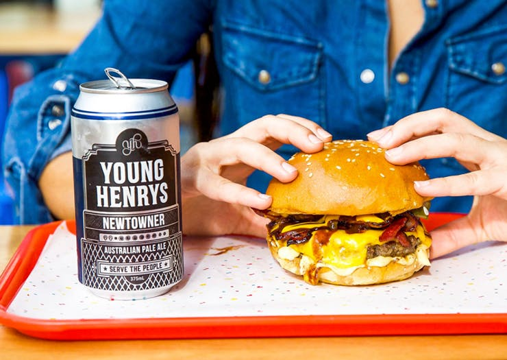 There's A Boozy Burger Party Happening Tonight