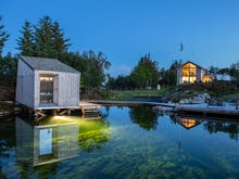 Lookout Onto Glassy Waters At This Eco Resort On A Remote Scandinavian Island