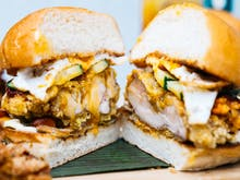 Hold Those Winter Woes, A Nasi Lemak Burger Has Just Hit Sydney