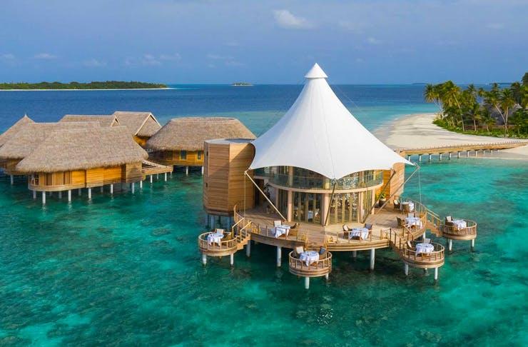 ocean villas in the maldives