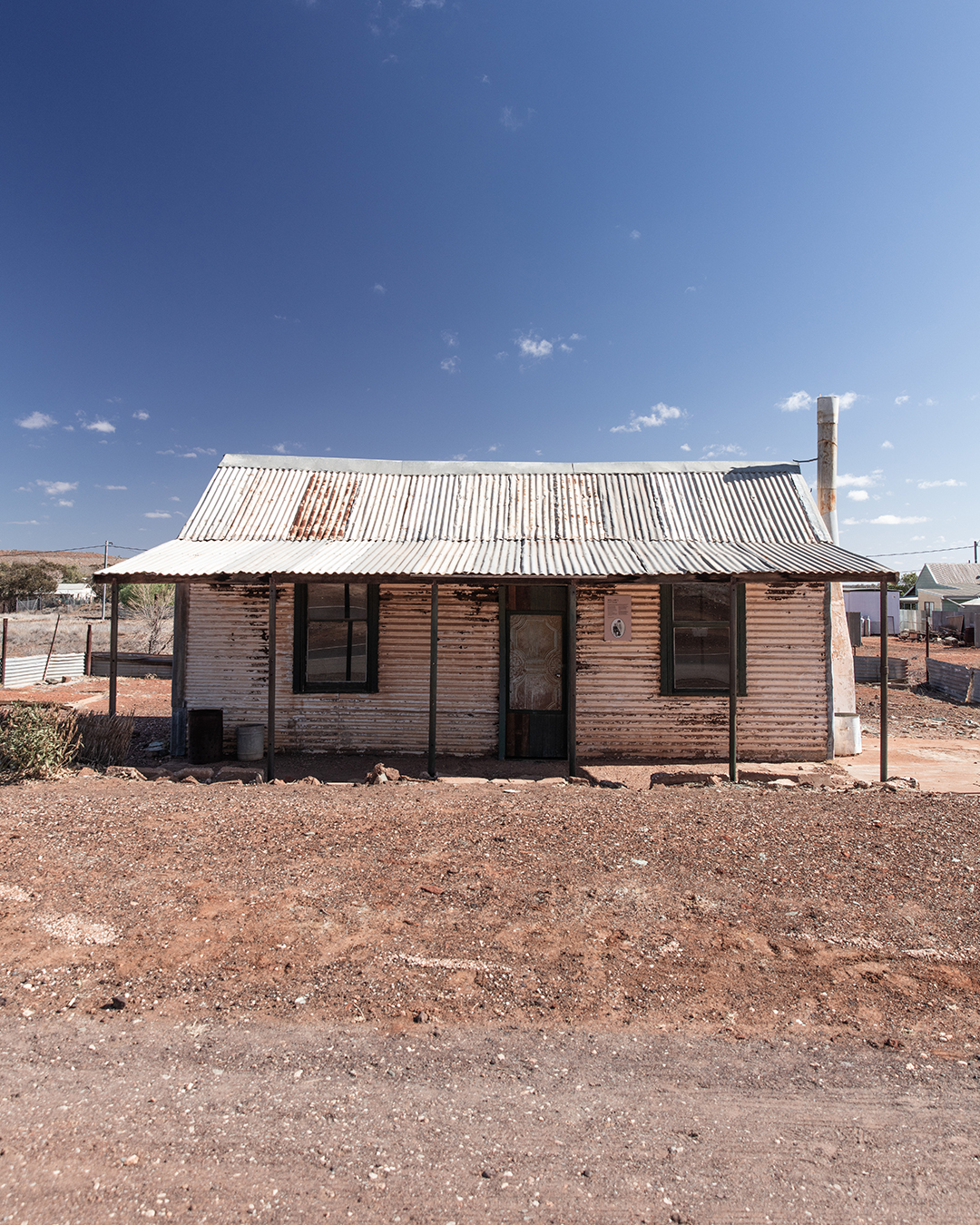 abandoned house in outback