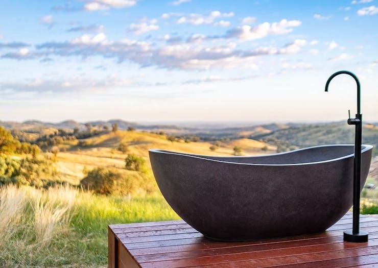 14 Of Australia's Best Outdoor Baths To Sink Into