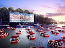 Take Note World, Paris Just Created A Floating Cinema With Socially Distanced Boats