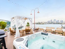Rent Out A Harbourside Cabana With Your Own Private Chef This Summer