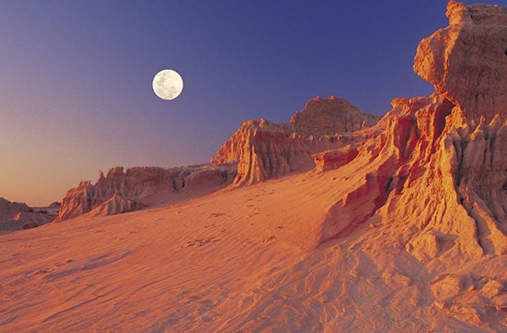 desert like landscape