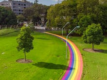Sydney's Rainbow Path To Commemorate The Legalisation Of Same Sex Marriage Is Finally Ready