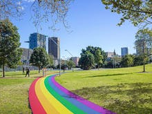 Sydney Is Getting A Permanent Rainbow Path To Commemorate The Legalisation Of Same Sex Marriage