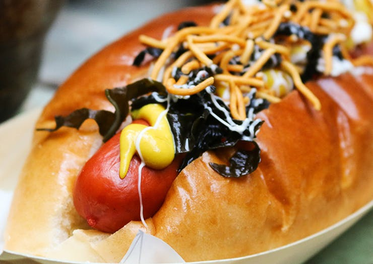 Here's Where To Grab Japanese Hot Dogs And Tinnies This Weekend