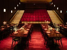 Soak Up Classic Films And Magnums Of Wine At This Underground Theatre