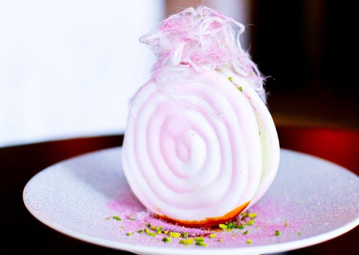 Where To Find This Extra Rosewater Meringue Ice-Cream Sambo
