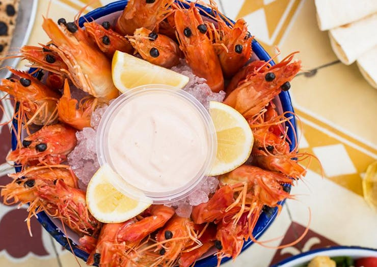 There Is A Two Day Seafood Festival At Port Stephens