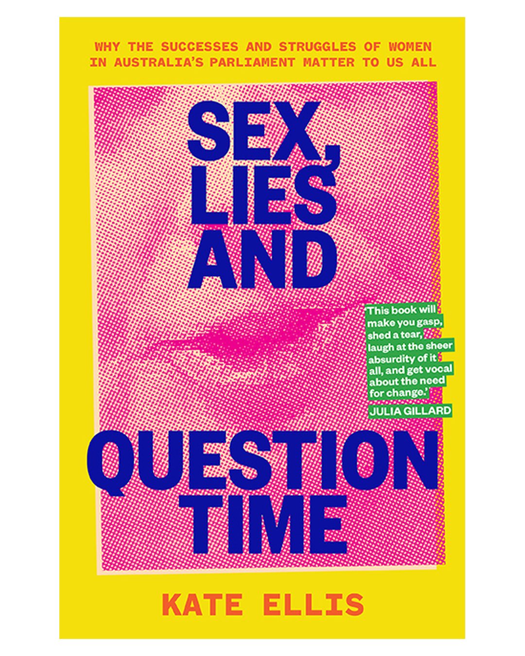book that says sex lies and question time