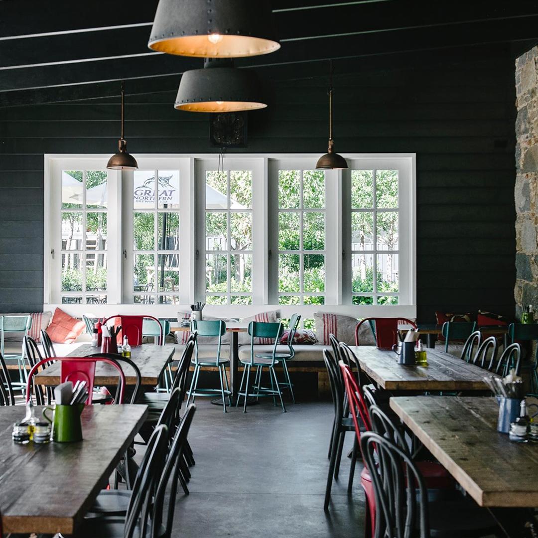 interior of sir george restaurant