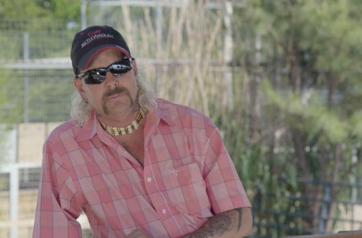 snap of joe exotic from animal planet documentary surviving joey exotic