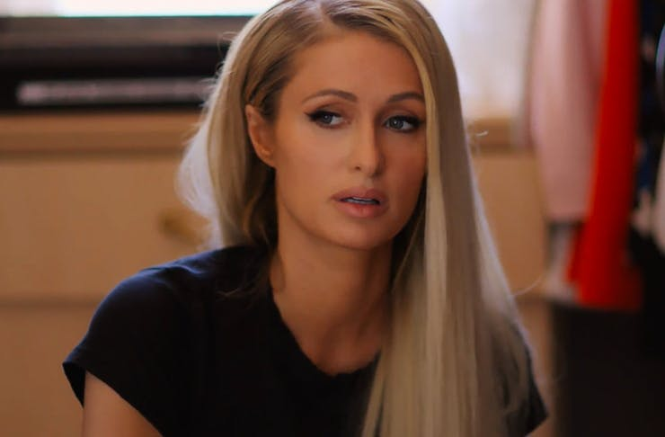 paris hilton in new documentary about her life