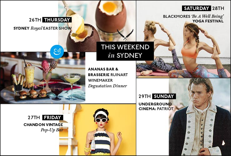 This Weekend In Sydney