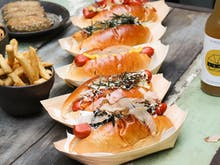 A Japanese-Inspired Hot Dog Pop-Up Is Coming And Cue The Drool