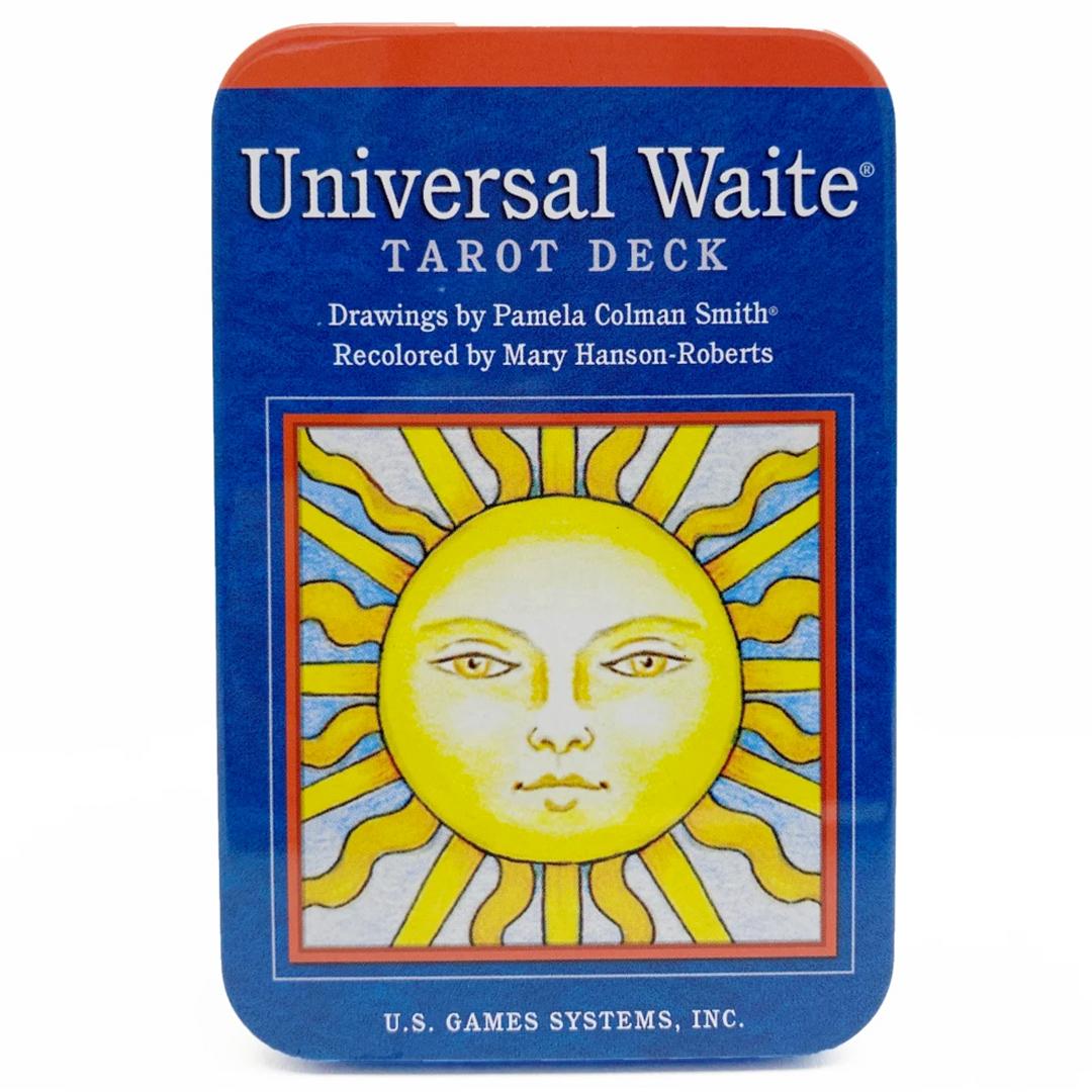 the universal waite tarot deck