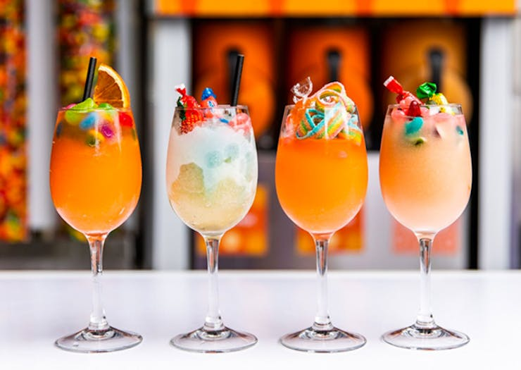Start Sipping, Untied's Rooftop Self-Service Frozé Bar Is Back With Bottomless Brunch