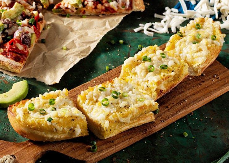 FYI, Domino's Now Has Vegan Cheesy Garlic Bread