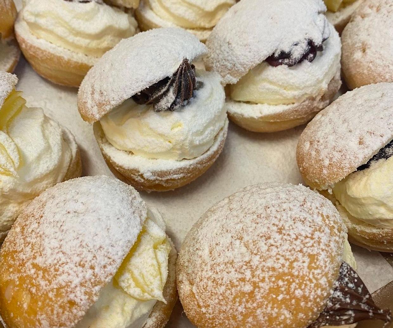 cream buns