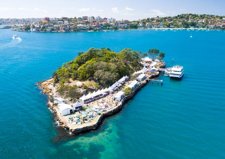 This Sydney Island Is Throwing A Boozy Paradise Party